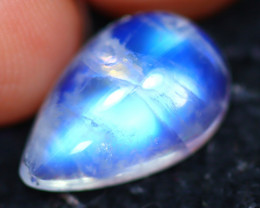 Moonstone 3.80Ct Natural Blue Flash Rainbow Moonstone E2614/C1