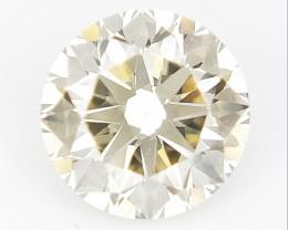 0.55 CTS , Round Brilliant Cut , Light Colored Diamond