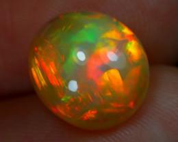 Welo Opal 2.72Ct Natural Ethiopian Play of Color Welo Opal B1285