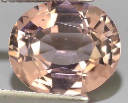 5.40 Ct. Attractive Natural Soft Pink Tourmaline Gemstone Dazzling!!