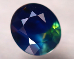 Blue Sapphire 1.28Ct Natural Blue Sapphire D2707/B25