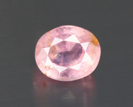 1.100 CT NATURAL  UNHEATED ORANGE PINK PADPARADSCHA SAPPHIRE AIG CERTIFIED