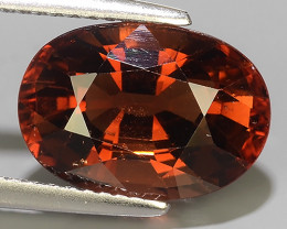 5.95 CTS AWESOME NATURAL OVAL TOURMALINE EXCELLENT GEM!!