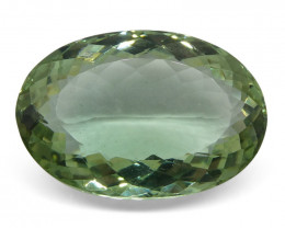 45.75 ct Oval Prasiolite (Green Amethyst)