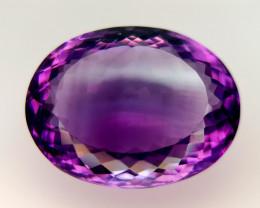 34Crt Natural Amethyst Natural Gemstones JI137