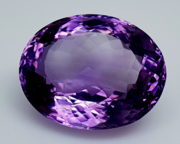 27Crt Natural Amethyst Natural Gemstones JI137