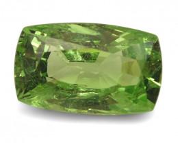 2.24ct Cushion Apple Green Grossular Garnet