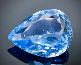 5.84 Crt Natural Topaz Faceted Gemstone.( AB 90)