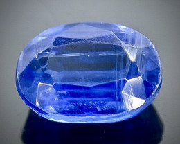 1.66 Crt Natural  Kyanite Faceted Gemstone.( AB 90)