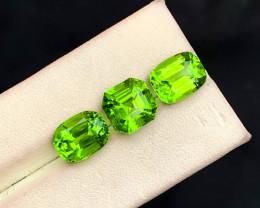 14.25 Carats Natural Peridot Gemstones Lot