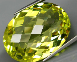 69.95 ct. Natural Earth Mined Top Quality Lemon Quartz - IGE Сertified