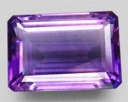 23.44  ct. Natural Top Nice Purple Amethyst Unheated Brazil - IGE Сertified