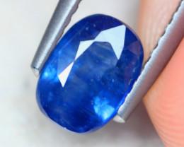 1.47ct Natural Blue Sapphire Oval Cut Lot GW8356