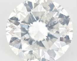 0.23 CTS , Round Brilliant Cut , Light Colored Diamond