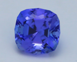 Unheated Tanzanite 5.09Ct Rare Unheated Blue Tanzanite IF Flawless BQ08