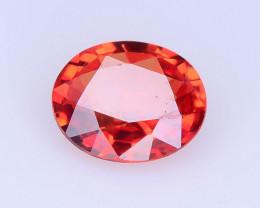 Top Grade 0.40 ct Orange Sapphire ~ K
