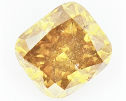 0.80 CTS , fancy Color Diamond , Fancy Cut Diamond