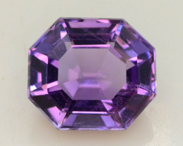 4.20 CT Natural Gorgeous Color Fancy Cut Amethyst ~ T