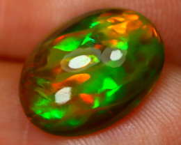 Welo Opal 2.76Ct Natural Ethiopian Flash Color Welo Opal A2401