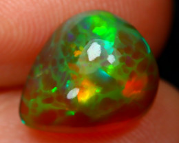 Welo Opal 2.02Ct Natural Ethiopian Flash Color Welo Opal A2402