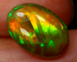 Welo Opal 2.47Ct Natural Ethiopian Flash Color Welo Opal A2403