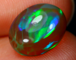 Welo Opal 2.01Ct Natural Ethiopian Flash Color Welo Opal A2416