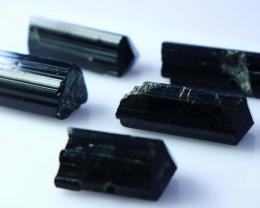NR!! 175.30 CTs Natural & Unheated~ Black Tourmaline Crystal Lot