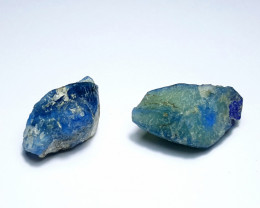 Amazing Natural color Lovely Afghanite 2 Crystal 40Cts-A