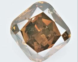 0.63 CTS , fancy Color Diamond , Fancy Cut Diamond