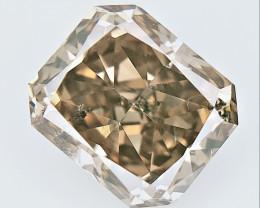 0.62 CTS , fancy Color Diamond , Fancy Cut Diamond