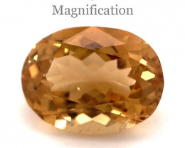 2.63ct Oval Heliodor / Golden Beryl-$1 No Reserve Auction