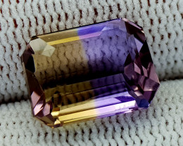 6.25CT BOLIVIAN AMETRINE BEST QUALITY GEMSTONE IIGC02