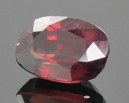 1.90ct Cushion Orange Red Zircon-$1 No Reserve Auction