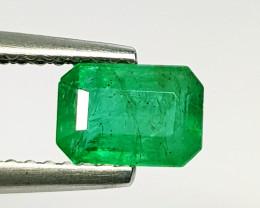 0.86 ct Exclusive Gem Stunning Octagon Cut Natural Emerald