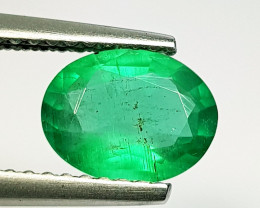 1.10 ct Top Grade Gem Amazing Oval Cut Natural Emerald