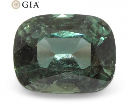 0.88ct Cushion Alexandrite GIA Certified Sri Lanka Blue-Green to Purple