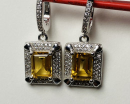 32 CT-  GOLD YELLOW CITRIN-  QUALITY JEWELRY FOR LITTLE MONEY - BECAUSE COL