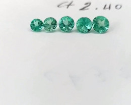2.40ct  Colombian Emerald Lot