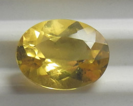LOVELY AAA 9X7MM ORANGE CITRINE OVAL!!