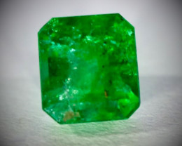 Emerald .40ct, Natural and Untreated, Emerald Shaped, May Birthstone, Make