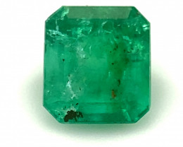 Emerald .40ct, Natural and Untreated, Emerald Shaped, May Birthstone, Make