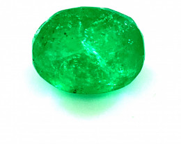 Emerald 1.45ct, Natural and Untreated, Panjshir Emerald, Sourced Afghanista
