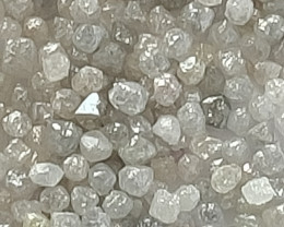 NATURALAUSTRALIAN WHITE DIAMOND ROUGH- 25CTWLOT
