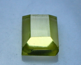 3.90 CTs Natural & Unheated~Yellow Citrine Cut Stone