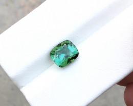2.30 Ct Natural Greenish Blue Transparent Tourmaline Gemstone