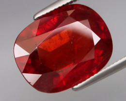 UNHEATED 7.92 ct. Natural Earth Mined Spessartite Imperial  Garnet Africa