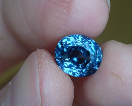 Spinel - Blue Rich  Medium Toned - 4.45ct -