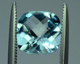 Fancy Cut Amazing Color 2.70 ct Blue Topaz