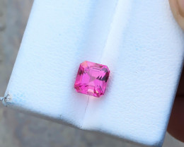 1.50 Ct Natural Pink Transparent Tourmaline Gemstone