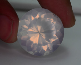 Big Size Rare Peach Pink 49.95 ct Feldspar Moonstone~Fancy Cut